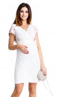 Proginė suknelė nėščiai - maitinančiai LOVELY Cream / M