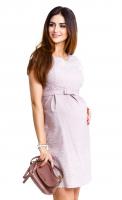 Stilinga suknelė nėščiai - maitinančiai ICY MOON Beige