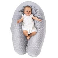 Nėščiosios poilsio ir kūdikio maitinimo pagalvė DODO PREMIUM 180cm / Vokietija