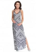 Ilga suknelė nėštukei MARION (tinka ir po nėštumo)