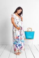 Ilga suknelė nėščiai - maitinančiai RIVIERA
