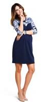 Puošni suknelė nėščiai ir maitinančiai BLUE LACE