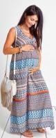Ilga suknelė nėščiai ir maitinančiai FIESTA