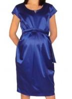 Elegantiška suknelė nėščiai FRESKA auksinė, mėlyna / S M XL