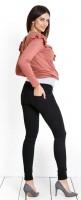 Stilingi juodi džinsai nėštukei skinny JOE