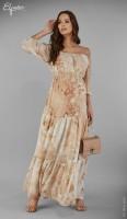 Ilga suknelė nėštukei LOLA (tinka ir po nėštumo)