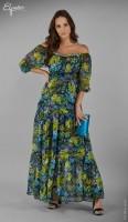 Ilga suknelė nėštukei LUISA (tinka ir po nėštumo)