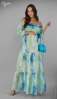Ilga suknelė nėštukei MARISSA (tinka ir po nėštumo)