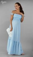 Ilga suknelė nėštukei NORA (tinka ir po nėštumo)