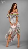 Ilga suknelė nėščiai JASMINE (tinka ir po nėštumo)