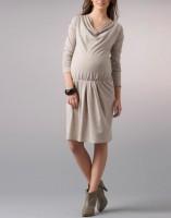 Suknelė drapiruotu kaklu XL