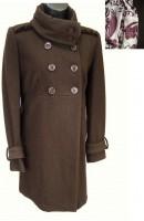 Šiltas elegantiškas paltas su vilna DOROTHY / XL