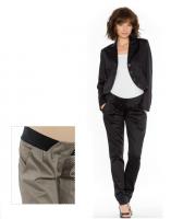 Juodos elegantiškos kelnės nėštukei BEMEL / XL