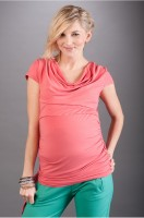 Palaidinė nėščiai PATRIZIA juoda, rausva,balta