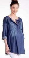 Džinsiniai marškiniai nėščiai - maitinančiai COCOON