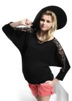 Palaidinė nėščiai ir po nėštumo AYRON / juoda, vyno, biskvito