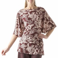 Palaidinė Gėlėtas kimono XL