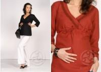 Palaidinė iš lino pluošto nėščiai - maitinančiai CARAIBIC / L XL XXL