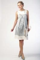 Suknelė nėštukei AIDA pilka, mocca