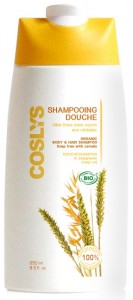 Coslys energizuojantis dušo gelis-šampūnas su grūdais, 250 ml