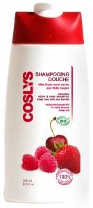 Coslys energizuojantis dušo gelis-šampūnas su raudonomis uogomis, 250 ml