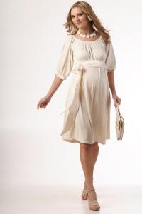 Suknelė nėščiai ROMANCE Ecru