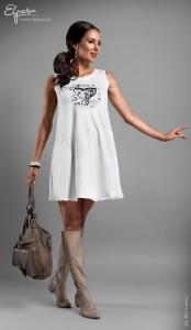 Universali stilinga suknelė - tunika nėštukei LIBBY (tinka ir po nėštumo)