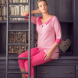 Rožinės pižaminės kelnės JOY