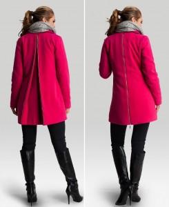 Žieminis paltukas su vilna nėščiai ir po nėštumo MAKALULU BERRY / XL