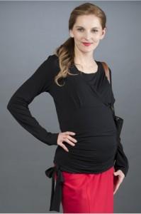 Palaidinė nėščiai - maitinančiai DAPHNE black