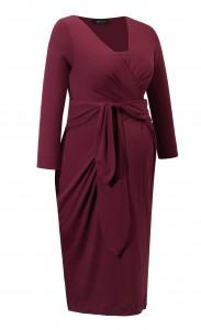 Suknelė nėščiai - maitinančiai HOLLY NEW wine / XS S