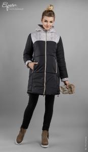 Universali šilta žieminė striukė nėščiai JUDY (pritaikyta dėvėti ir po nėštumo)