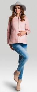 Stilingas paltukas nėštukei ADORE Pink L