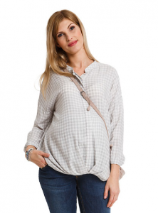Ilgi marškiniai nėščiai - maitinančiai NIXA