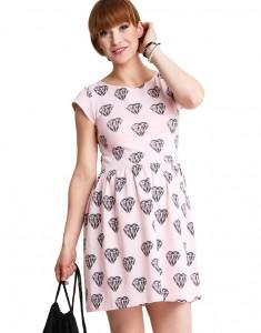Stilinga suknelė DIAMONDS LOVE