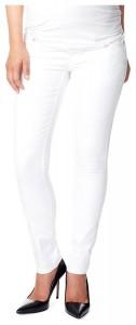 NOPPIES balti džinsai nėščiai slim LEAH White / XS