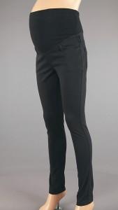 Juodos siaurėjančios džinso audinio kelnės