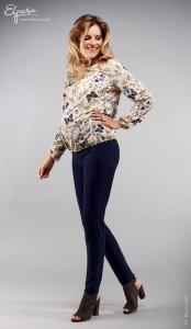 Stilingos kelnės nėščiai DANIELA slimfit