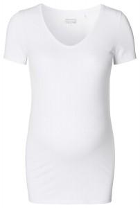 NOPPIES marškinėliai nėštukei AMSTERDAM White