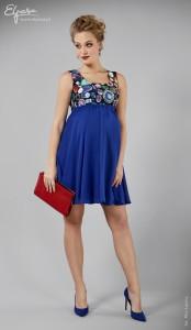 Proginė suknelė nėščiai SAFIR / L XL