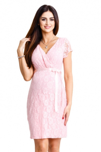 Elegantiška suknelė nėščiai ir maitinančiai LOVELY PUDRE