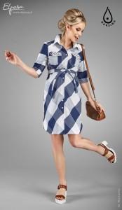 Suknelė - marškiniai nėščiai - maitinančiai GIANNA / XL