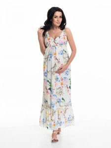 Ilga suknelė nėščioms - maitinančioms CLEOPATRA