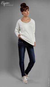 Stilingi džinsai nėščiai skinny ANGIE