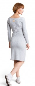Suknelė nėščiai RELAX grey melange / L XL