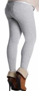 Šiltos medvilninės tamprės - kelnės su kišenėmis COTTON WINTER S-XXXL (11 spalvų)