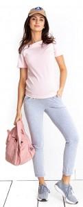 Palaidinė nėščiai - maitinančiai PEANUT pudre pink