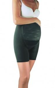 Celiulitą mažinantys korsetiniai mikromasažiniai šortukai - kelnaitės nėštukėms Panty Maman